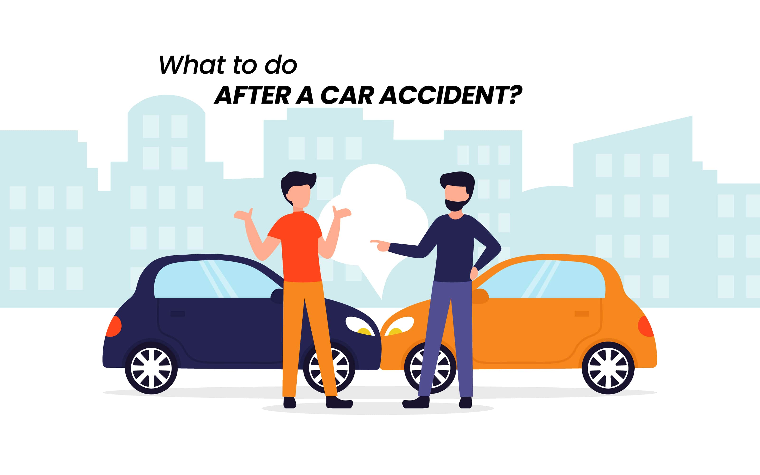 what to do after a car accident checklist in texas